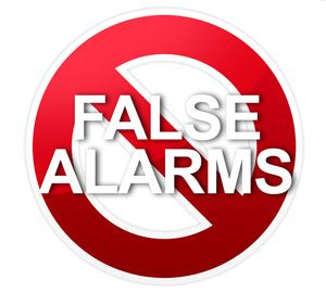 false alarm symbol