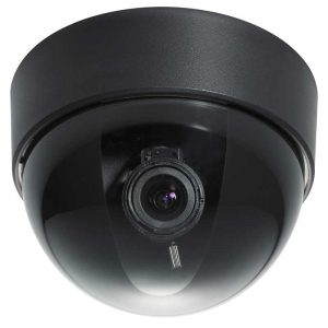black dome security camera