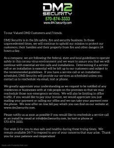 COVID-19 DM2 Security Update 1